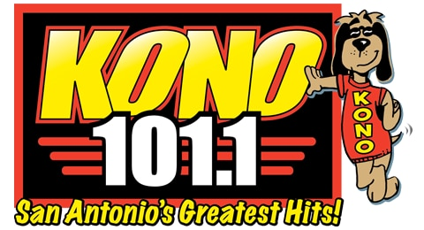 KONO 101.1 - San Antonio's Greatest Hits Logo